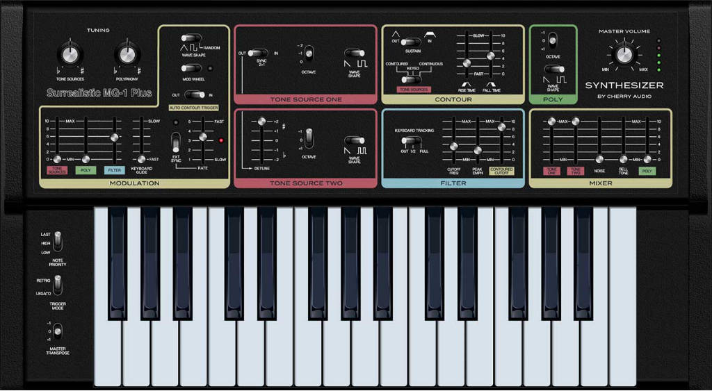 Surrealistic synth
